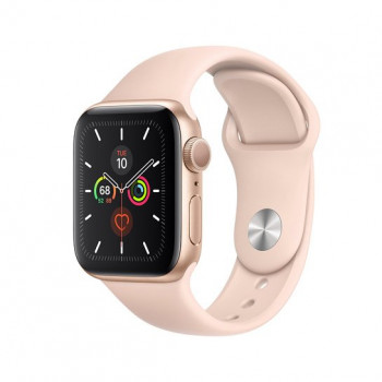 Смарт-часы Apple Watch Series 5 40mm Gold Aluminum Case with Pink Sand Sport Band