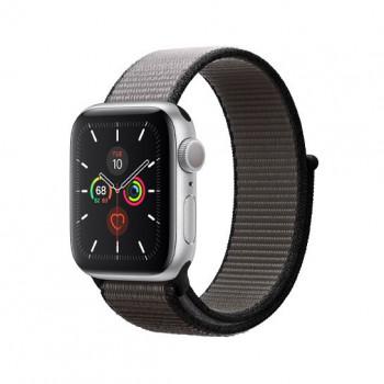 Смарт-часы Apple Watch Series 5 40mm Silver Aluminum Case with Anchor Gray Sport Loop