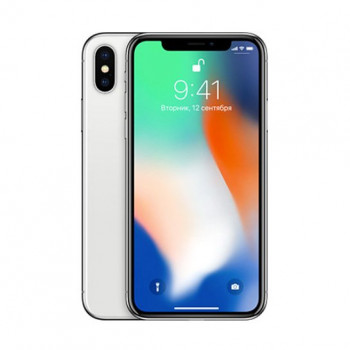 Б/У Apple iPhone X 64Gb Silver (4)