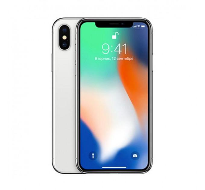 Б/У Apple iPhone X 64Gb Silver (5)