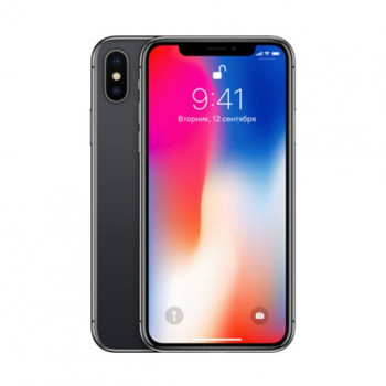 Б\У Apple iPhone X 64Gb Space Gray (Темно-серый) (5)