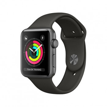Смарт Часы Apple Watch Series 3 38mm Space Gray Aluminum Case with Gray Sport Band