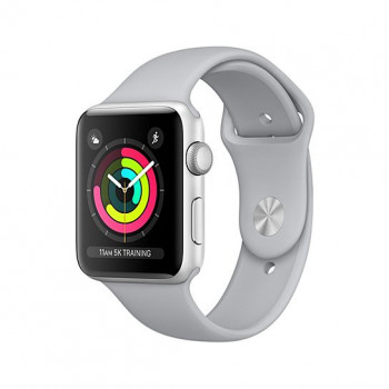 Смарт Часы Apple Watch Series 3 38mm Silver Aluminum Case with Fog Sport Band