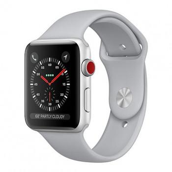 Смарт Часы Apple Watch Series 3 + LTE 42mm Silver Aluminum Case with Fog Sport Band