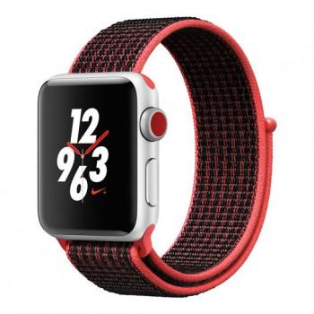 Смарт Годинник Apple Watch Series 3 Nike+ LTE 42mm Silver Aluminum Case with Bright Crimson/Black Nike