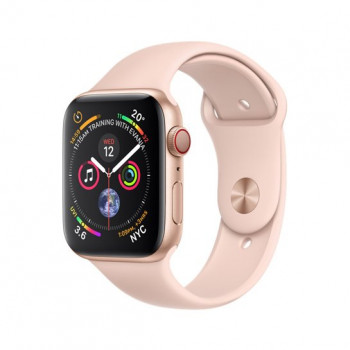 Смарт-часы Apple Watch Series 4 + LTE 40mm Gold (Золотой) Aluminum Case with Pink Sand Sport Band