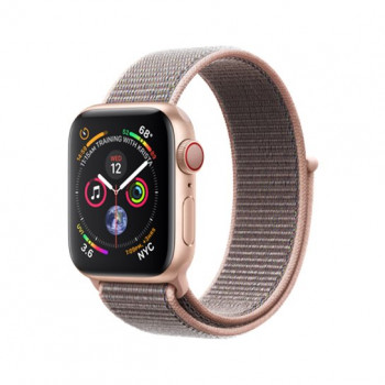 Смарт-часы Apple Watch Series 4 + LTE 40mm Gold (Золотой) Aluminum Case with Pink Sand Sport Loop