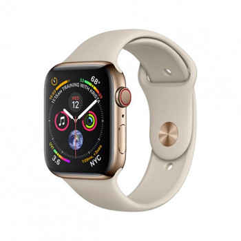 Смарт-часы Apple Watch Series 4 + LTE 40mm Gold (Золотой) Stainless Steel with Stone Sport Band