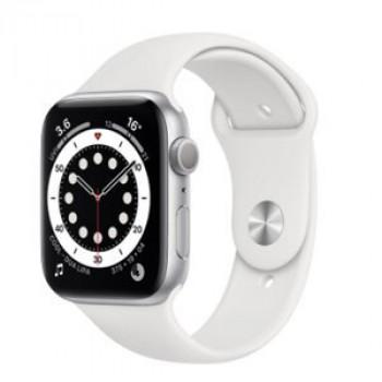 Смарт-годинник Apple Watch Series 6 GPS 40mm Silver Aluminium Case with White Sport Band (MG283)